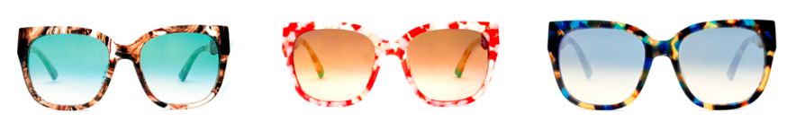 etnia sunglasses trio