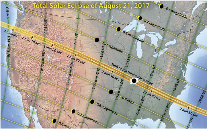 SAFELY ENJOY WATCHING THE GREAT AMERICAN SOLAR ECLIPSE ON AUGUST